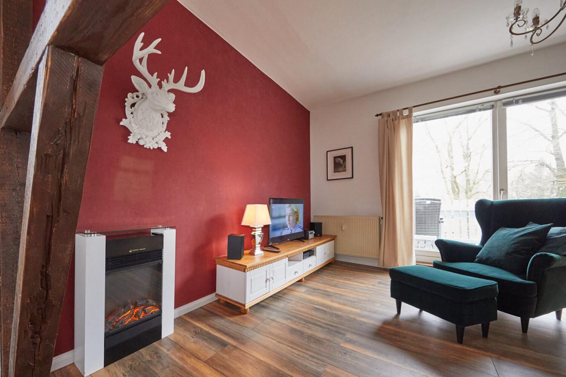 Luxus-Ferienwohnung Harzglück Hahnenklee - Wohnzimmer