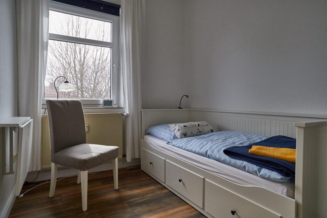 Luxus-Ferienwohnung Glück auf Hahnenklee - kleines Schlafzimmer