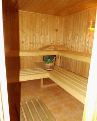 Sauna - Luxus-Ferienwohnung Hahnenklee